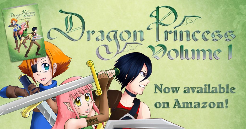 Dragon Princess now available on Amazon