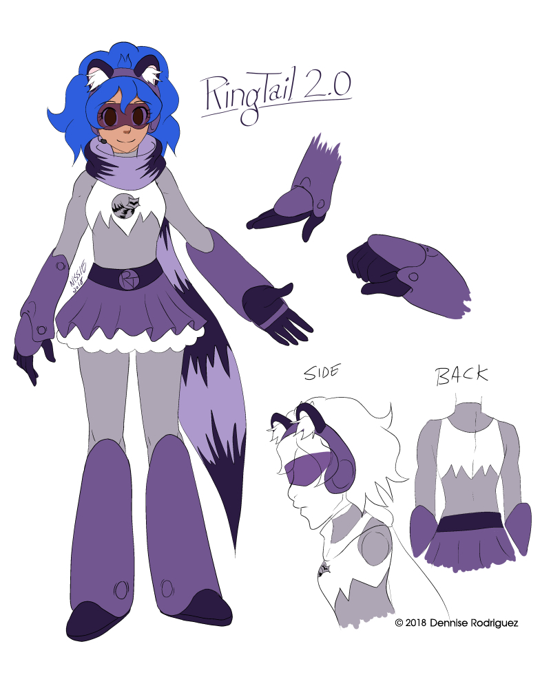 RingTail New Design Sheet